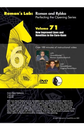 ROMAN'S LAB - VOLUME 71 - New Improved Lines and Novelties in the Caro-Kann