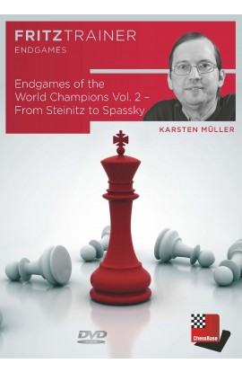 Endgames of the World Champions Vol. 2 – From Steinitz to Spassky - Karsten Müller