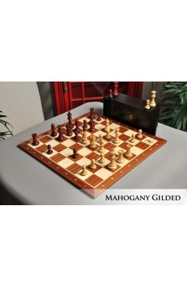 The Grandmaster Chess Set, Box, & Board Combination
