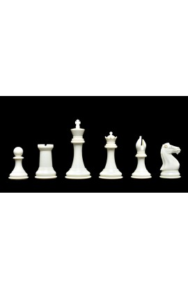 "The Collector Series Plastic Chess Pieces - 4.0"" King"
