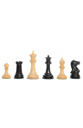 "The Camaratta Collection - The 1850 Morphy Series Chess Pieces - 4.4"" King"