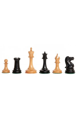 "The Camaratta Collection - The 1854 Anderssen Series Luxury Chess Pieces - 3.5"" King"