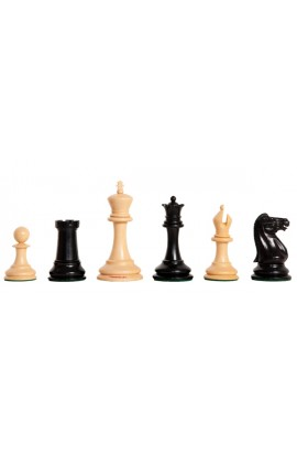 "The Camaratta Collection - The 1857 Chess Congress Series Luxury Chess Pieces - 4.4"" King"