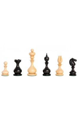 "The Camaratta Collection - The 1867 Dublin Series Chess Pieces - 4.0"" King"