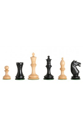"The Botvinnik Flohr Luxury Chess Pieces - 4.0"" King"