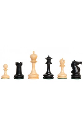 "The Camaratta Collection - The Cambridge Springs Series Chess Pieces - 3.875"" King"