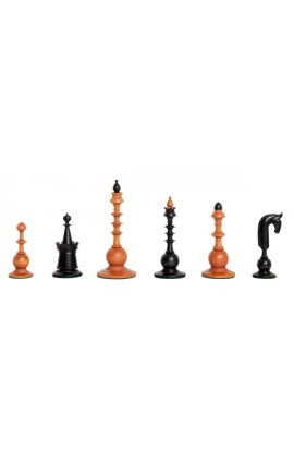 "The Circa 1750 Dutch Series Luxury Chess Pieces - 4.4"" King"