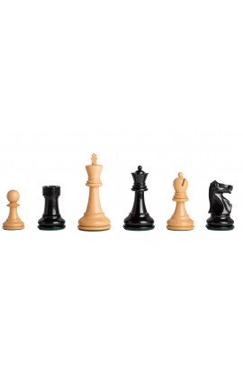 """The Fischer Spassky Series Luxury Commemorative Chess Pieces - 3.75"""" King"""