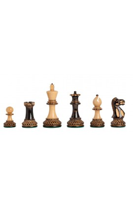 "The Burnt Grandmaster Series Chess Pieces - 4.0"" King"