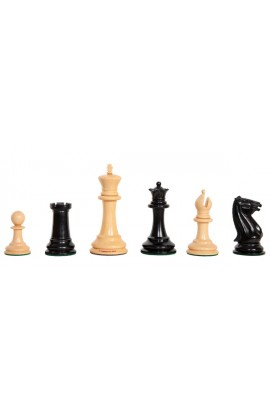"Genuine Staunton® x The Camaratta Collection - The Definitive Morphy Series Luxury Chess Pieces - 4.4"" King"