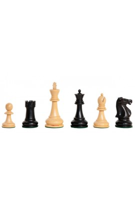 """The Camaratta Collection - The Improved Fischer Spassky Series Chess Pieces - 3.75"""" King"""