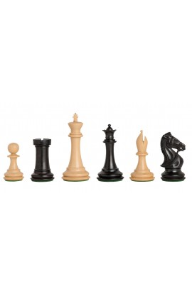 "The Leicester Series Chess Pieces - 4.0"" King"