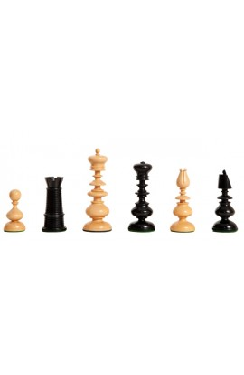 "The Camaratta Collection - The Old Windsor Series Reproduction Chess Pieces - 4.4"" King"
