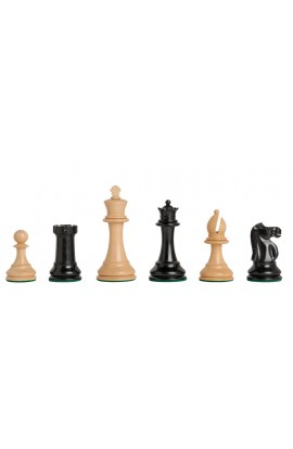 "The British Chess Company - Staunton Popular Chess Pieces - 4.0"" King"