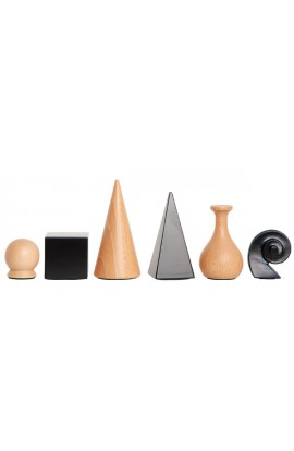 Man Ray Licensed WOODEN Chess Pieces - 3.25'' King