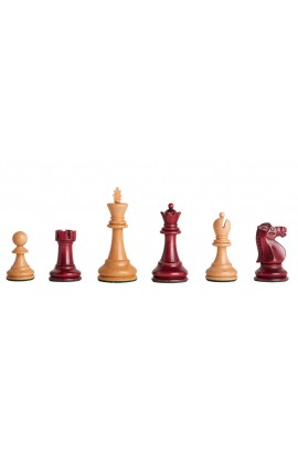 "The Reykjavik II Series Gilded Chess Pieces - 3.75"" King"