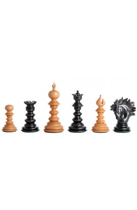 "The Savano Series Artisan Wood Chess Pieces - 4.4"" King"