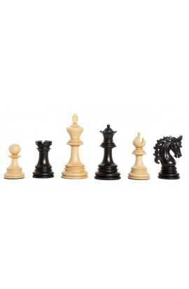 "CLEARANCE - The Siena Series Luxury Chess Pieces - 4.4"" King"