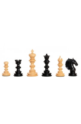 "The Vittoria Series Artisan Chess Pieces - 4.4"" King"