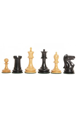 "The Library Collection - The Zukertort Series Luxury Chess Pieces - 2.875"" King"