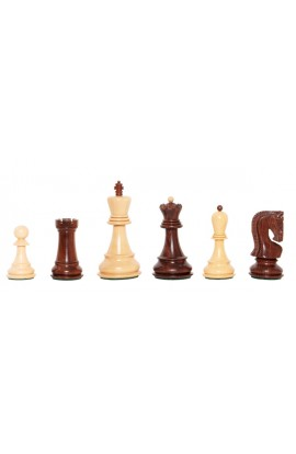 "The Exotique Collection® - The Zagreb Series Luxury Chess Pieces - 3.875"" King - With Natural Boxwood"