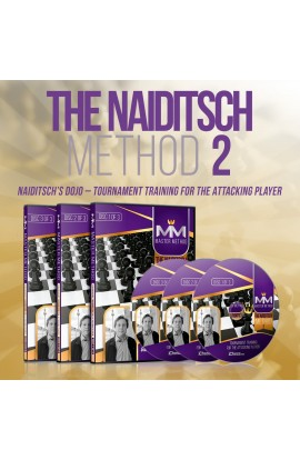 E-DVD - MASTER METHOD - The Naiditsch Method 2 - GM Arkadij Naiditsch - Over 15 hours of Content!
