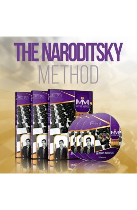 E-DVD - MASTER METHOD - The Naroditsky Method - GM Daniel Naroditsky - Over 15 hours of Content!