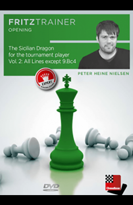 The Sicilian Dragon - All Lines Except 9. Bc4 - PETER NIELSEN -  VOL. 2