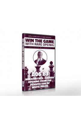 E-DVD - Win the Game with Rare Opening - A06 B3 Nimzowitsch Larsen Opening