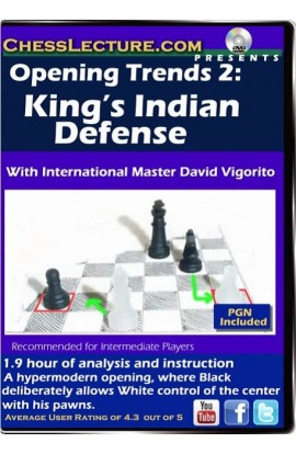 Opening Trends 2 - The King's Indian Defense - Chess Lecture - Volume 104