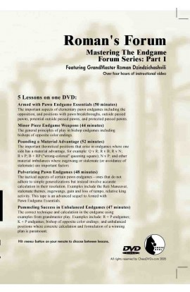 E-DVD ROMAN'S LAB - VOLUME 30 - Mastering The Endgame Forum Series - PART 2