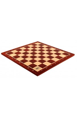 Padauk and Maple Wooden Tournament Chess Board