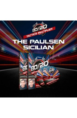 80/20 Tactics Multiplier - The Paulsen Sicilian - GM Rashad Babaev - Volume 12