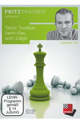Tactic Toolbox Semi-Slav with 6. Bg5 - Robert Ris