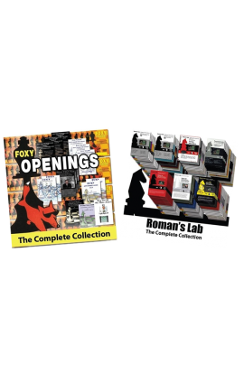 BOTH - Roman's Lab AND Foxy Openings Complete eDVD Collections Bundle
