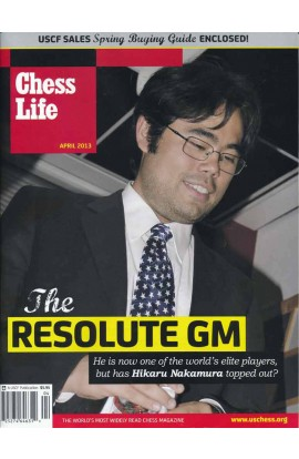 CLEARANCE - Chess Life Magazine - April 2013 Issue