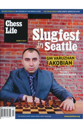 CLEARANCE - Chess Life Magazine - March 2013 Issue