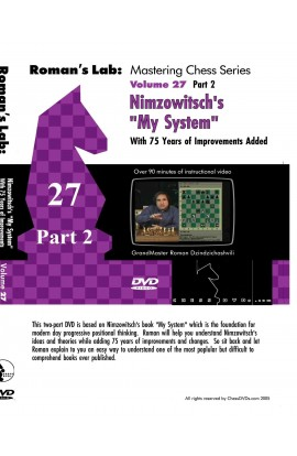 E-DVD ROMAN'S LAB - VOLUME 27 - Nimzowitsch: My System VOLUME 2