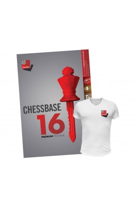 CHESSBASE 16 - PREMIUM Edition With FREE T-Shirt