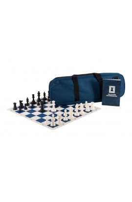 The Chess Expert's Combination - Regulation Silicone Pieces | Silicone Chess Board | Deluxe Bag | Luxe Scorebook
