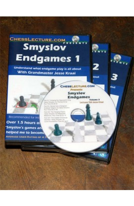 Smyslov Endgames - Complete Set - 3 DVDs - Chess Lecture