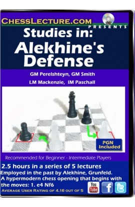 Studies in: Alekhine's Defense - Chess Lecture - Volume 145