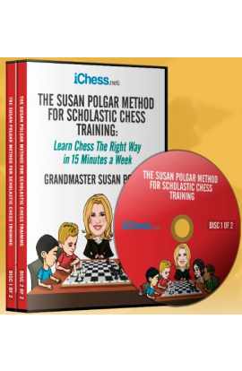 E-DVD The Susan Polgar Method for Scholastic Chess - Volume 1
