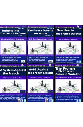 The Definitive French Collection - 6 DVDs - Chess Lecture