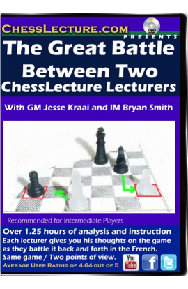 The Great Battle Between Two ChessLecture Lecturers Front