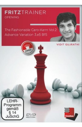 The Fashionable Caro-Kann - Vol 2 - Advance Variation 3. e5 Bf5 - Vidit Gujrathi