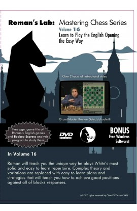 ROMAN'S LAB - VOLUME 16 - Learn To Play The English Opening The Easy Way