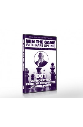 E-DVD - Win the Game with Rare Opening - D01 Veresov Attack