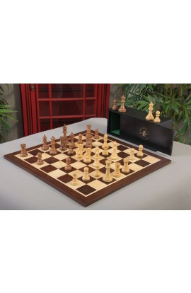 The Wild Knight Series Chess Set, Box & Board Combination