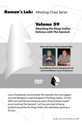 E-DVD ROMAN'S LAB - VOLUME 59 - Attacking the King's Indian Defense with the Samisch
